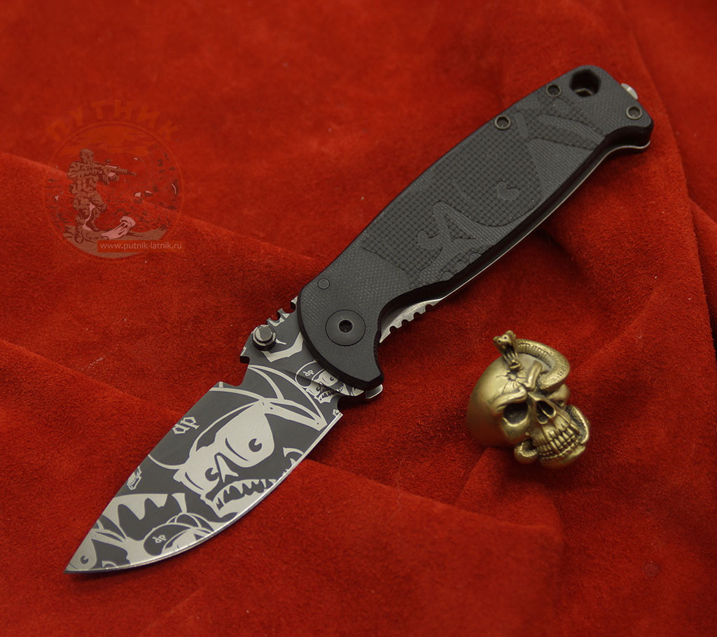 DPx HEST Folder Mr DP Black Niolox Limited Edition