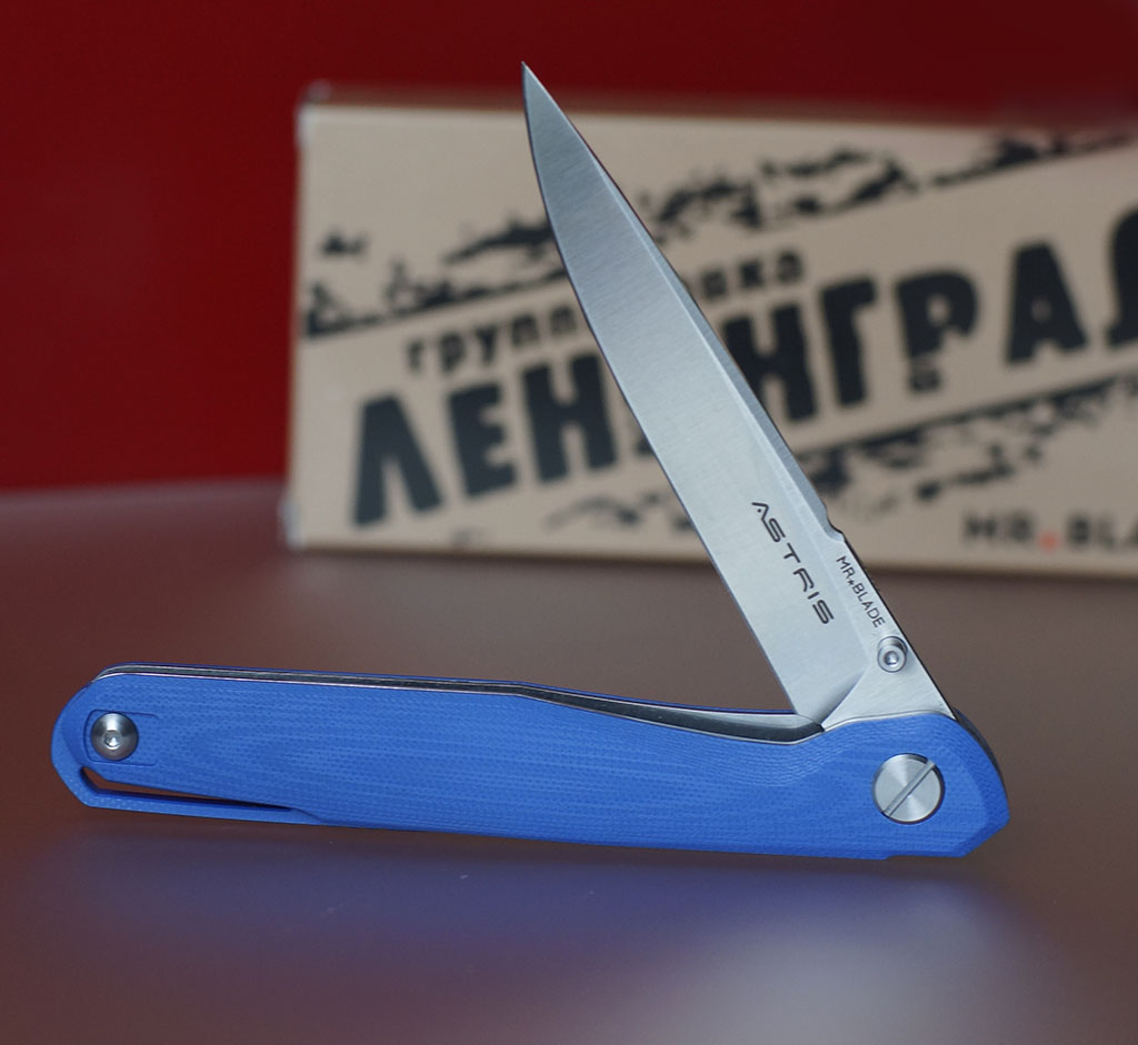 Mr Blade Astris D2 Blue Limited Edition