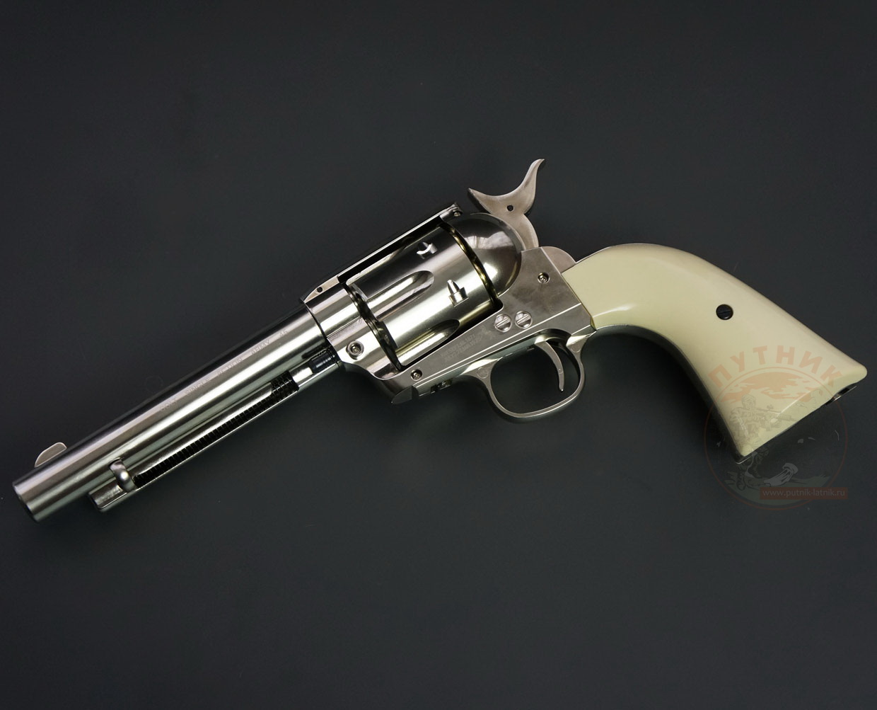 COLT SAA 45 BB nickel finish
