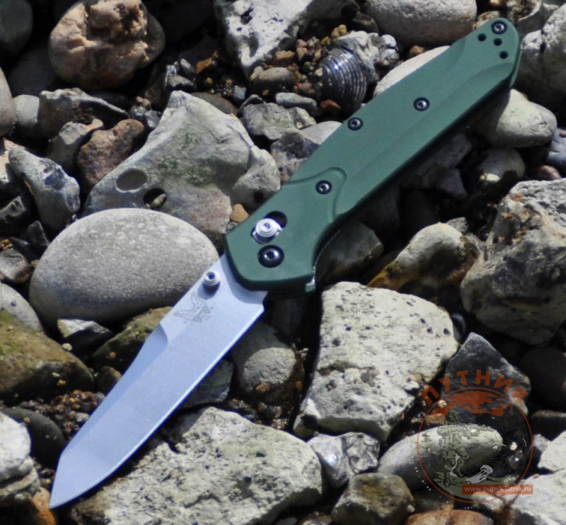 Benchmade 940  Osborn Axis green