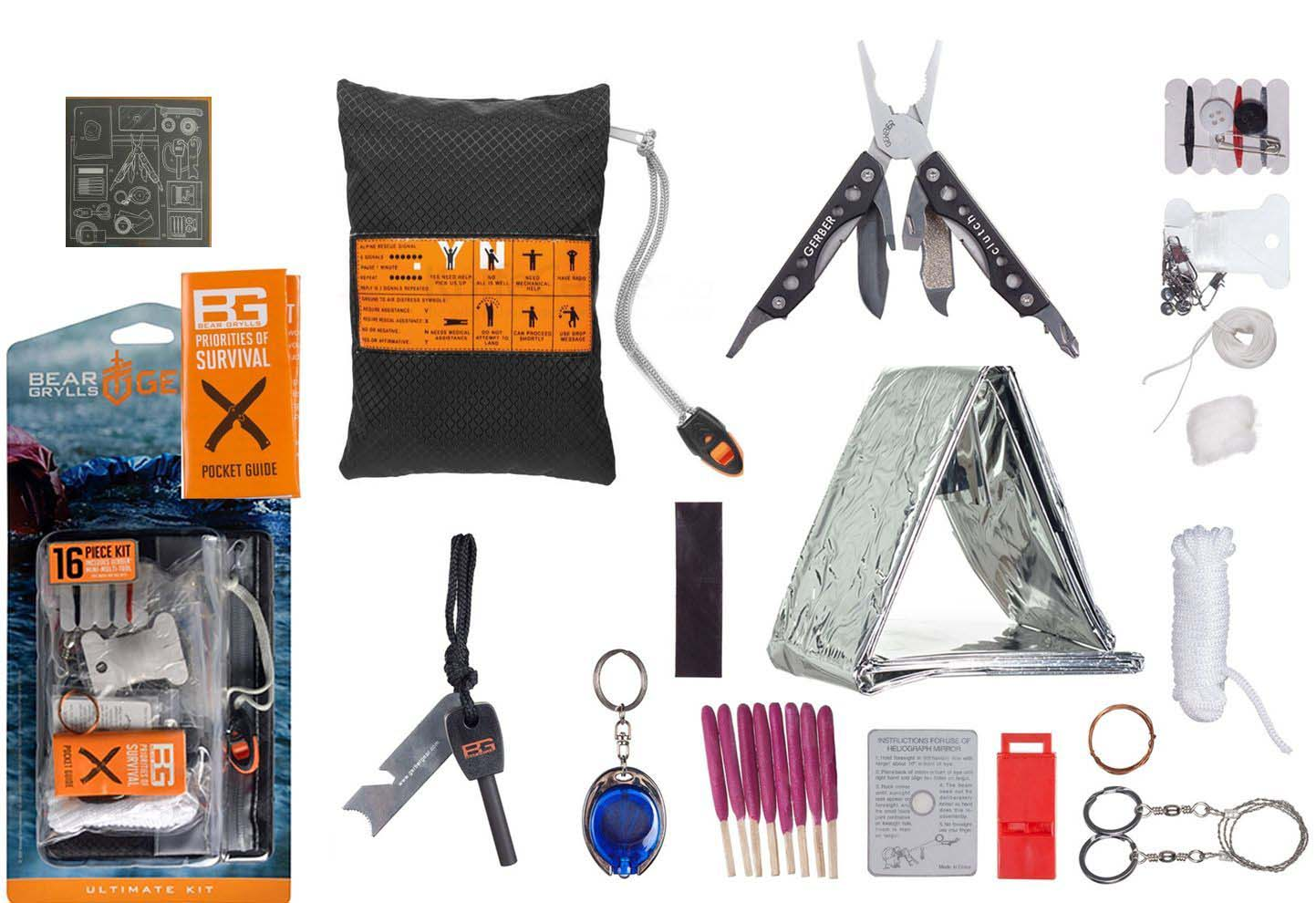 Набор для выживания Gerber Bear Grylls Ultimate Survival Kit