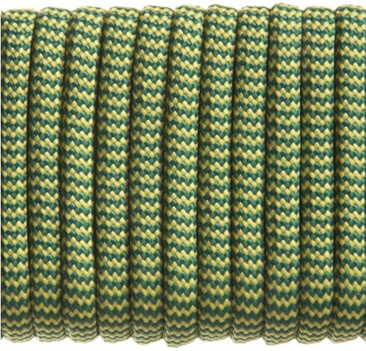 Guardian Paracord 550 Yellow Green Wave