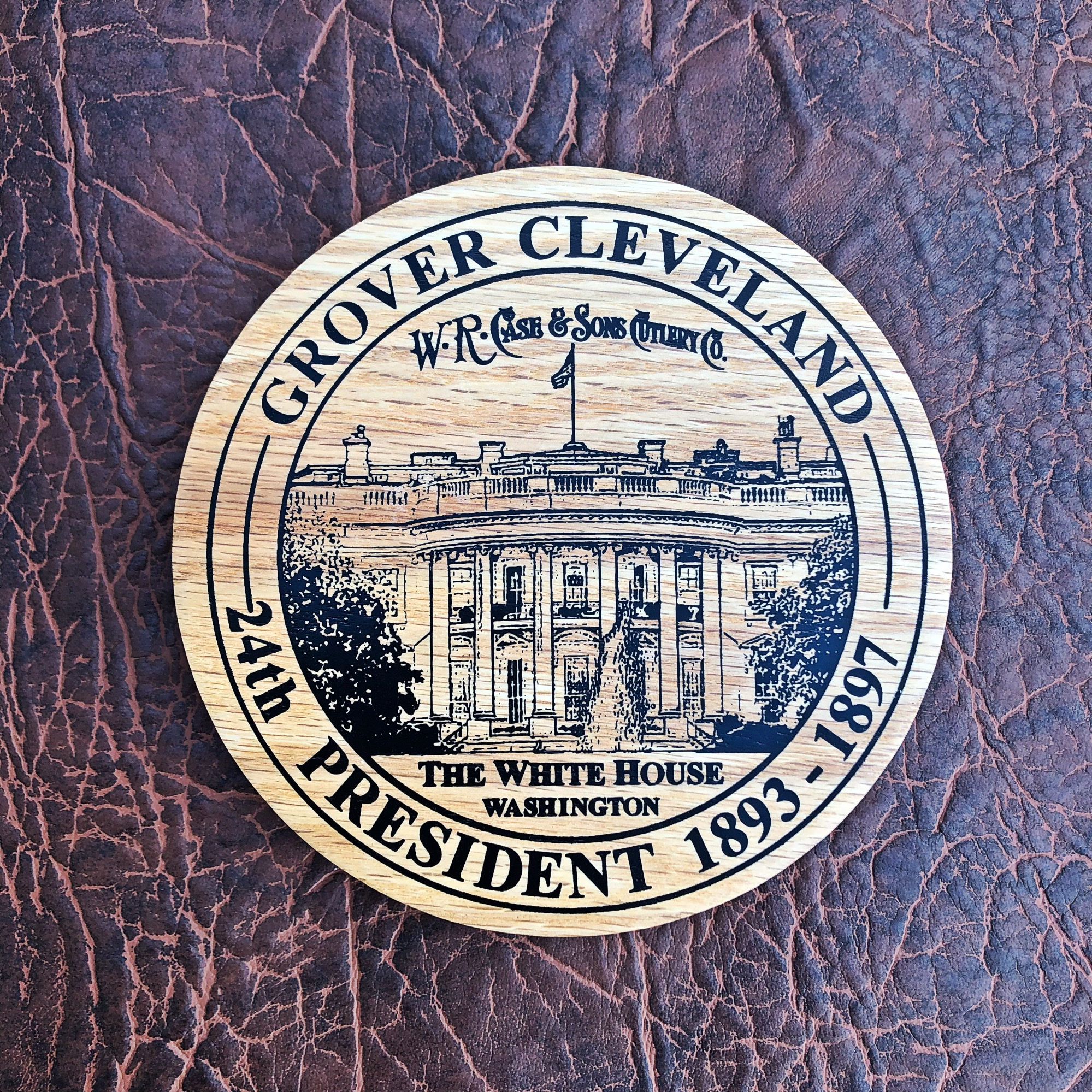 Case XX Knife Presidential Dollar Commemorative Set Limited Edition - Cleveland