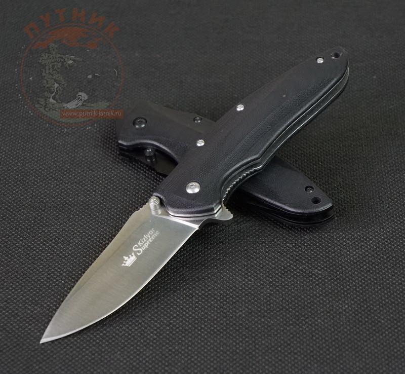 Kizlyar supreme нож цена как закалять сталь 95х18 для ножа