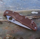 Spyderco SC10FPBN Endura Flat Ground Brown