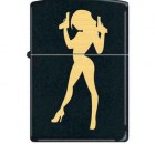 zippo-9551-big-guns-sexy-woman-black-matte