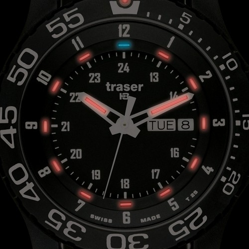 Часы Traser P 6600 ELITE RED